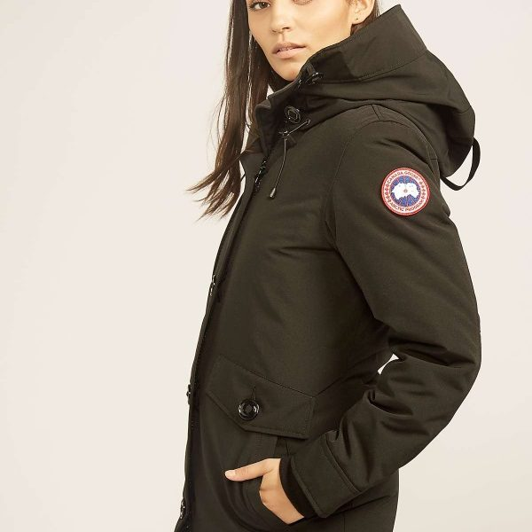 Canada Goose Rideau Down Parka – Women's Winter Coat – Black ...