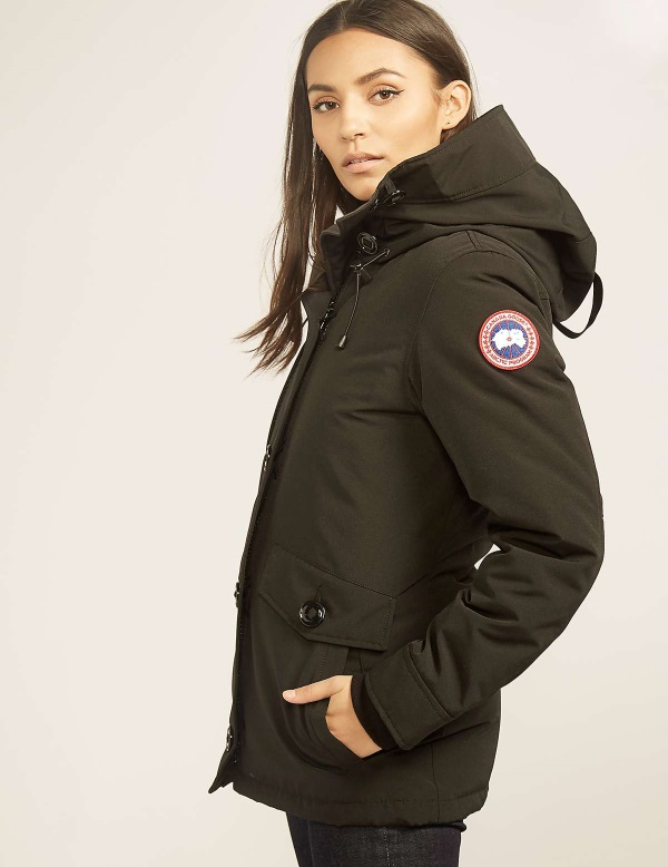 canada goose black jacket womens